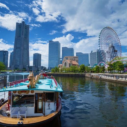 ■みなとみらい隣接の『新港地区』に位置し、観光に最適な立地■