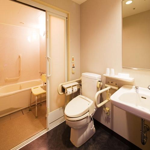 ■ユニバーサルツイン■お風呂やトイレももちろんバリアフリー対応で安心
