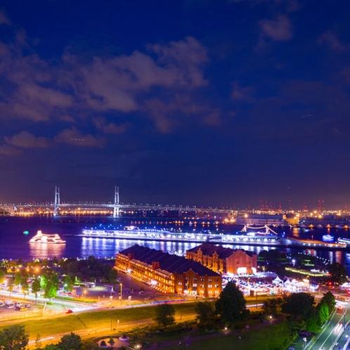 ■景色■港町横浜の象徴!赤レンガやベイブリッジビューがお楽しみ頂けます。