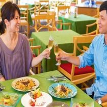 ■美味しい料理に会話もいつも以上に弾むね♪■