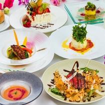 ■シェフ自慢の特別コース料理で大切な記念日を■