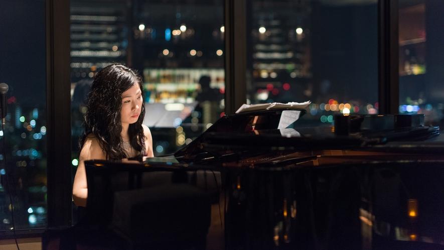 【the bar】ピアノの生演奏を聴きながら流れる、ゆったりとした時間
