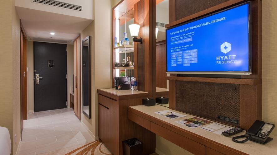 【デラックスツイン32㎡】ご家族でご利用いただく際に丁度良い広々としたお部屋です