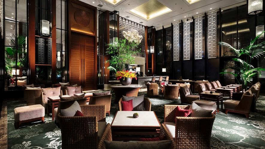 【the lounge】時を忘れてくつろぐ優雅な空間がお客様をお待ちしております〇