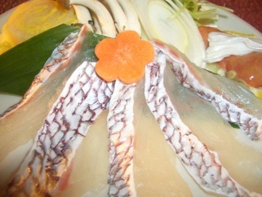 【現金特価】鯛を食べよう!鯛しゃぶしゃぶ鍋プラン