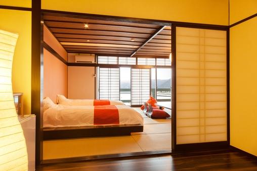 ■漣Ren■海の見える15畳の和洋室