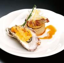 牡蠣変わり焼き 寒鰤照り焼き