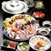 九絵(くえ)鍋コース