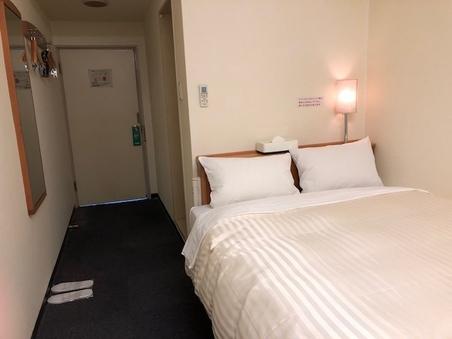 ★喫煙ダブルルーム★ ベッド幅140cm