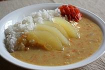 【朝食】【日替わり】県産リンゴ入りホワイトカレー
