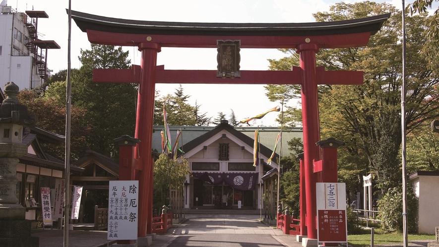 青森市/善知鳥神社