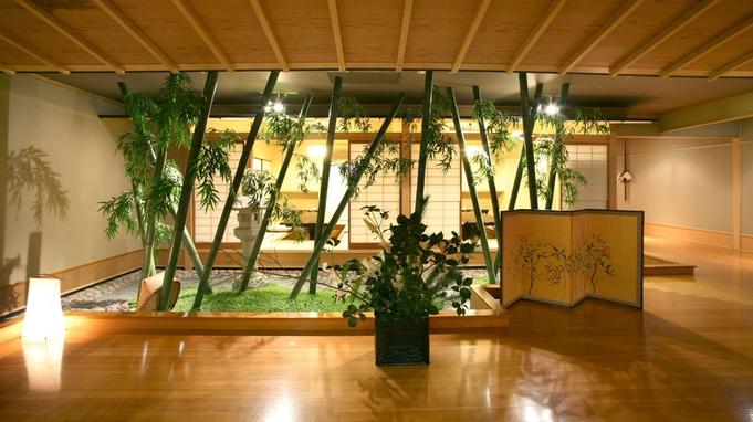 【平日限定!個室確約】鮑のお造り付!〜飛天館露天風呂付き客室1泊2食付きプラン