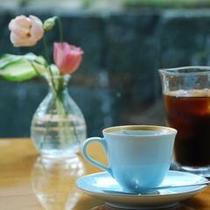 コーヒー 喫茶にて