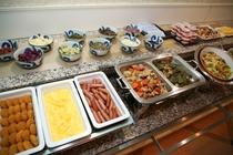 朝食バイキング内容一例 イメージ