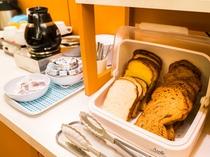 朝食トーストコーナー