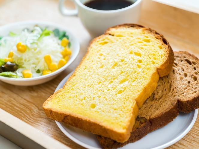 朝食例(トースト)