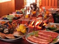 ★★贅沢な炭火炉端焼き料理★★