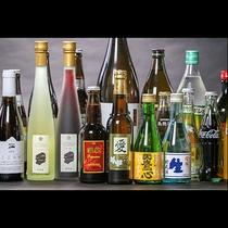 地酒やドリンク類を豊富に取り揃えております