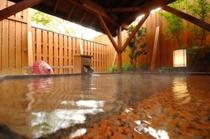 花うつしの湯には桜や紅葉が浮かぶ