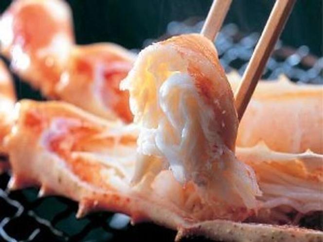 香ばしい甘さが絶品の焼たらば蟹