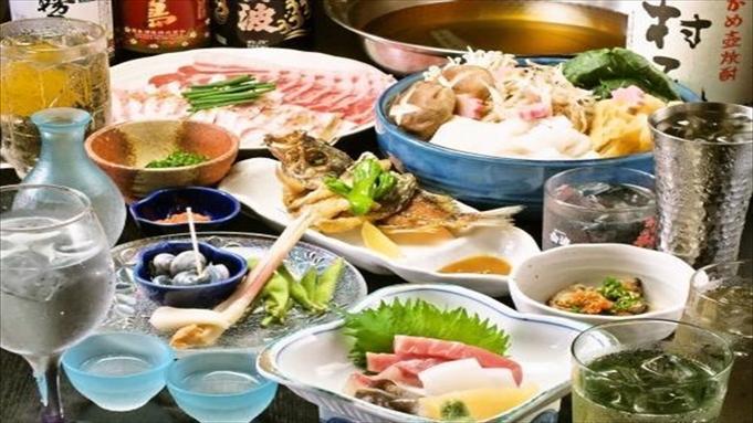 【2名様から】「多酒食彩 つかさ」☆おまかせコース付プラン♪ 朝食付