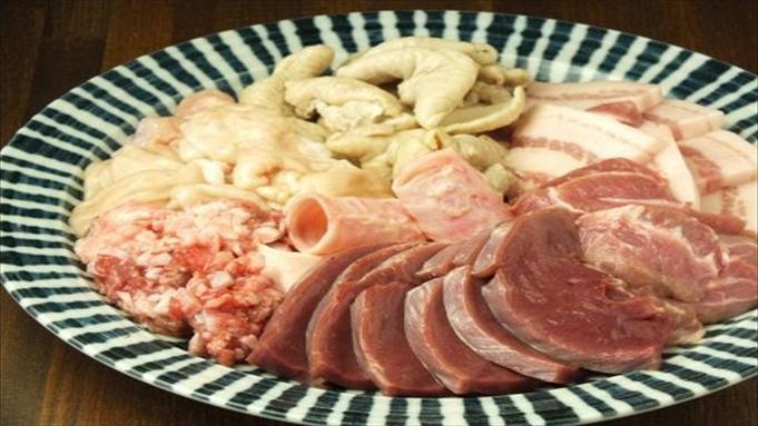 「ホルモンMini Mini」☆おまかせお肉コース付夕食付プラン♪朝食付