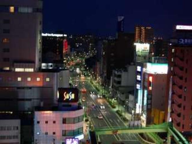 高層階 東側のお部屋からの眺望