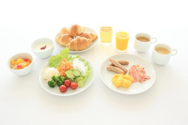 朝食メニュー(一例)