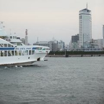 小豆島高速艇とホテル