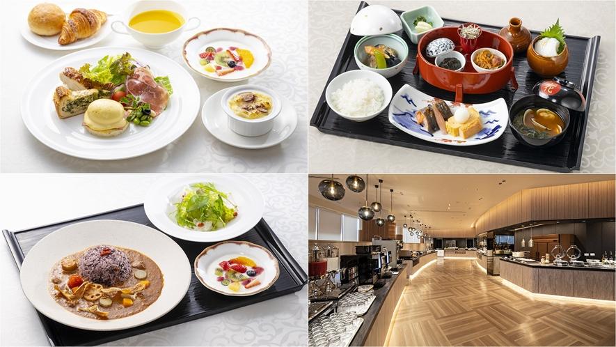 ◆朝食セットメニュー(3種)