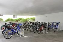 ホテルの自転車レンタル