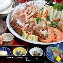 【宴会プラン大鍋料理一例】