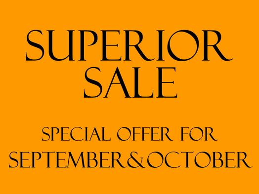 【9月・10月特別SALE】室数限定で一部土曜日も平日同額!お得にスーペリアプラン(お食事なし)