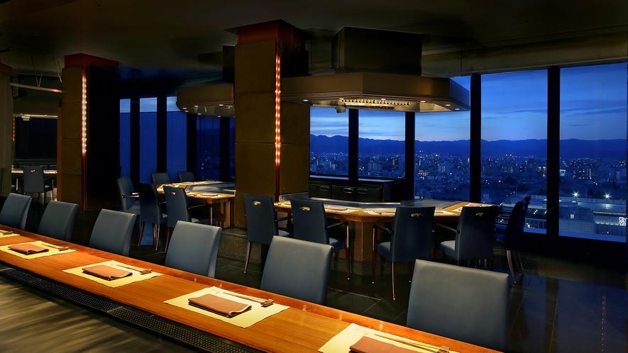 レストラン-鉄板焼「五山望」1