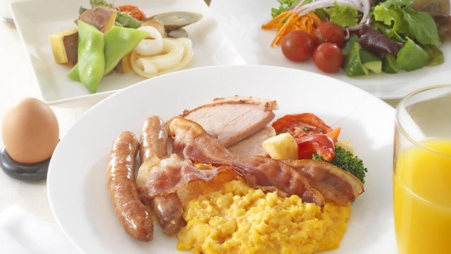 朝食 和洋ブフェ(イメージ)