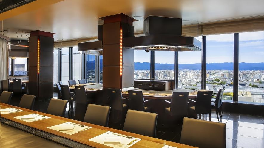 レストラン-鉄板焼「五山望」2