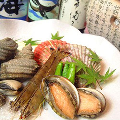 グレードアップ(貝の焼き物)