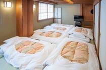 和室1〜6名様(バス・トイレなし)お布団