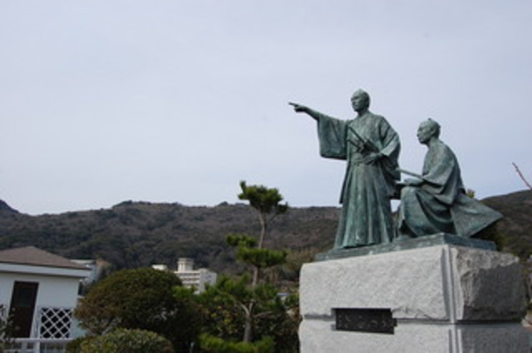 吉田松陰の像