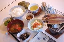 朝食 和食例