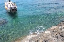 谷川浜 渡船の船着場