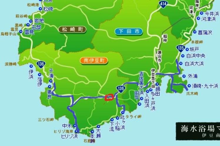 下田・南伊豆海水浴場