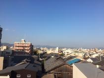 5階からの景色