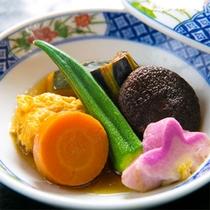 ◆蓋物-野菜の炊き合わせ-◆