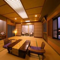 ◆和室15畳「山鯱」◆~角部屋&唐津城view~