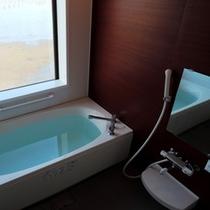 【客室風呂一例】全室お風呂を完備しております