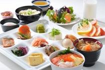 【北海道朝食バイキング】和食盛付