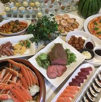 【夏休み限定】北海道産食材のなまら美味しいディナーブッフェ
