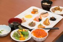 【北海道朝食バイキング】盛付例