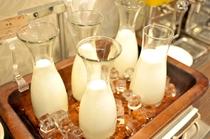 【北海道朝食バイキング】酪農王国北海道のおいしい牛乳